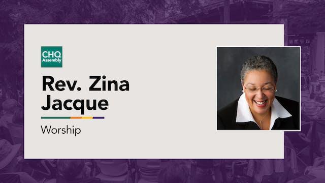 Rev. Zina Jacque - Monday
