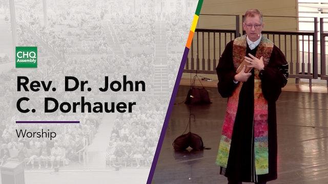 Rev. Dr. John C. Dorhauer - Sunday