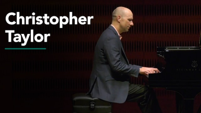 An Afternoon Piano Recital with Christopher Taylor