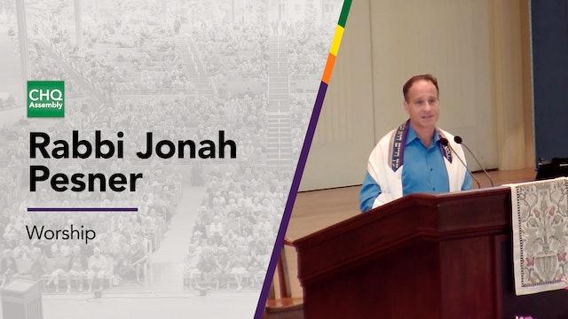 Rabbi Jonah Pesner - Thursday