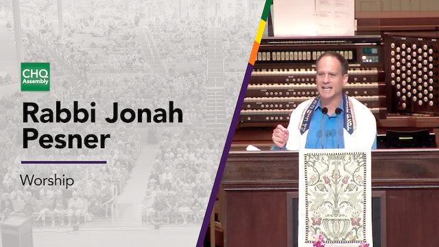 Rabbi Jonah Pesner - Wednesday