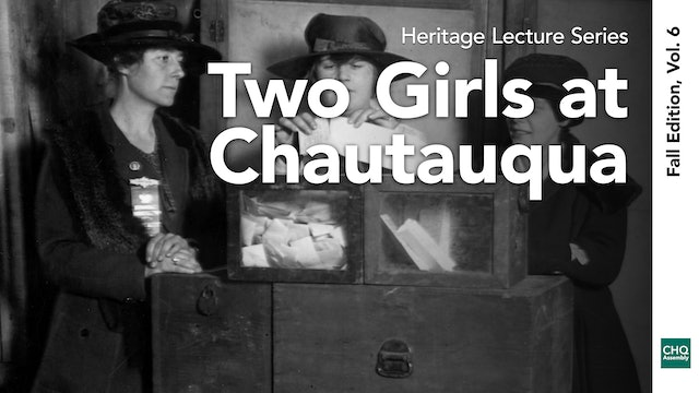 Two Girls at Chautauqua