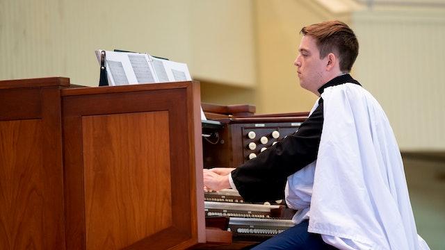 Organ Recital with Joshua Stafford 7/15/20