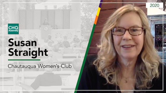 Coalition of Chautauqua County Women and Girls featuring Susan Straight