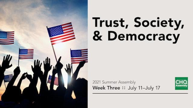 Trust, Society and Democracy