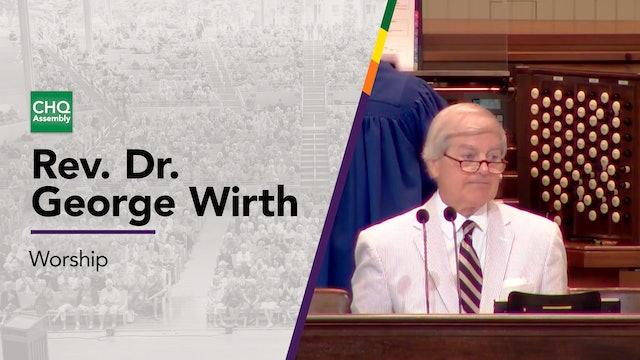 Rev. Dr. George Wirth
