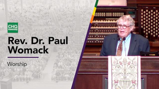 Rev. Dr. Paul Womack