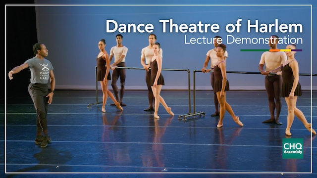 Dance Theatre of Harlem Lecture Demonstration