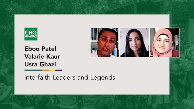 Interfaith Leaders and Legends: Valarie Kaur & Usra Ghazi