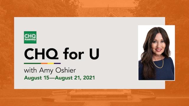 CHQ for U :: August 15—August 21, 2021