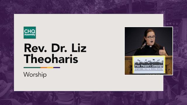 Reverend Dr. Liz Theoharis - Thursday