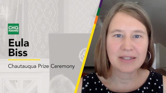 2021 Chautauqua Prize Ceremony