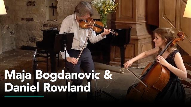 Recitals with Rossen featuring Maja Bogdanovic and Daniel Rowland