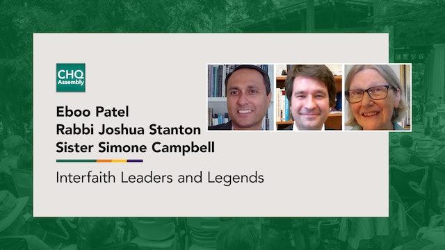 Interfaith Leaders and Legends: Rabbi Joshua Stanton & Sister Simone Campbell
