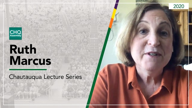 Robert H. Jackson Lecture on the Supreme Court presented by Ruth Marcus