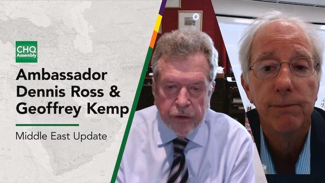 Middle East Update: Ambassador Dennis Ross with Geoff Kemp