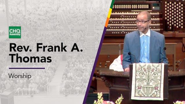 Rev. Frank A. Thomas - Sunday