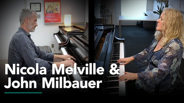 An Afternoon Piano Recital with Nicola Melville and John Milbauer