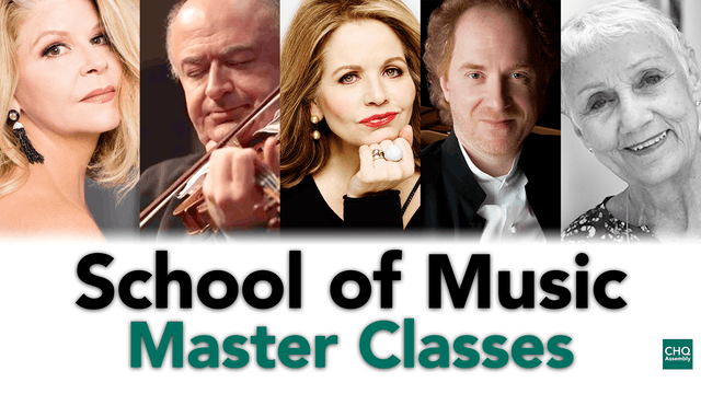 School of Music Master Classes