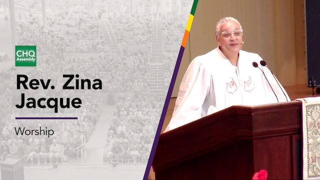 Rev. Zina Jacque - Wednesday