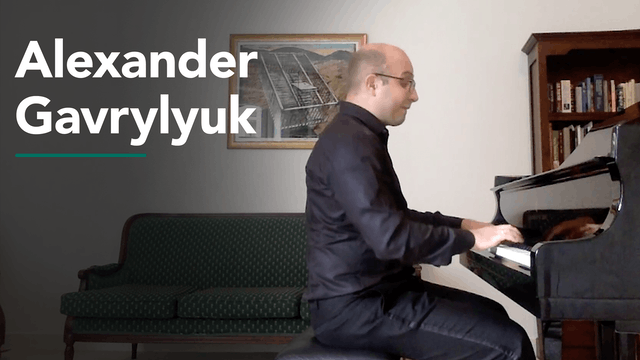 Recitals with Rossen featuring Alexander Gavrylyuk