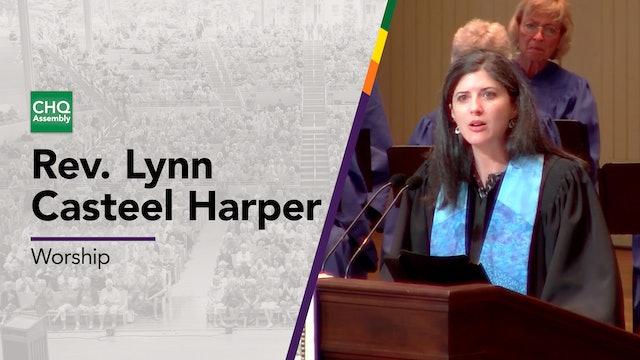 Rev. Lynn Casteel Harper - Tuesday