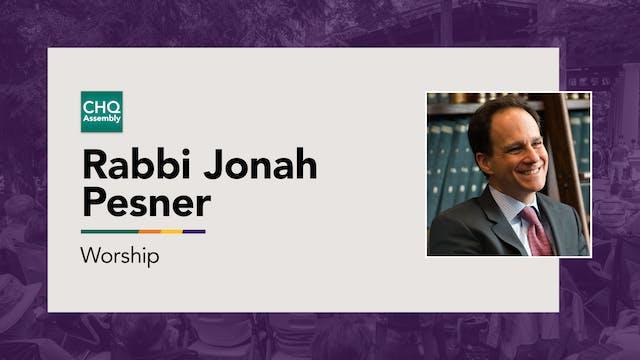 Rabbi Jonah Pesner - Monday