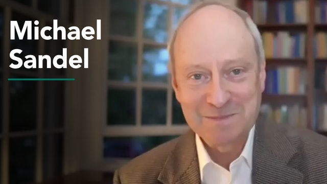 Presentation & Interactive Program with Michael Sandel