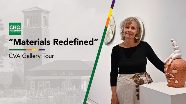 """Virtual Gallery Tour: """"Materials Redefined"""""""