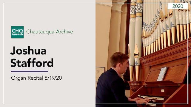 Organ Recital with Joshua Stafford 8/...