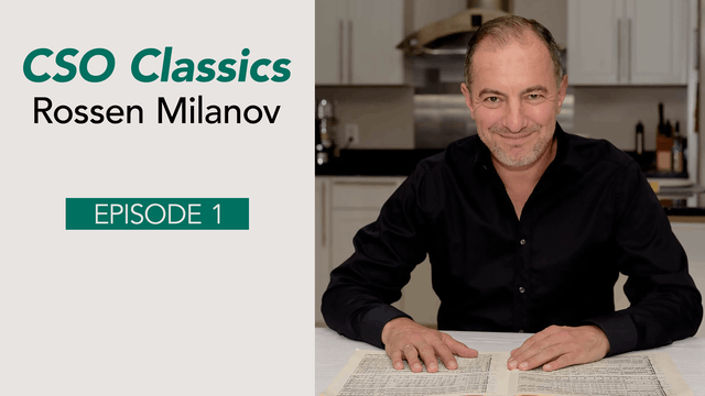 CSO Classics Podcast, Ep. 1