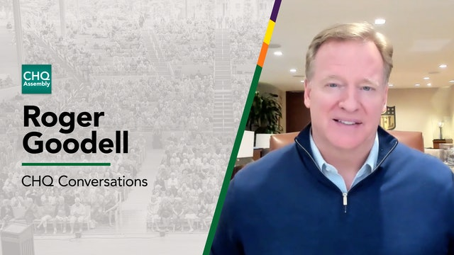 CHQ Conversations: Roger Goodell