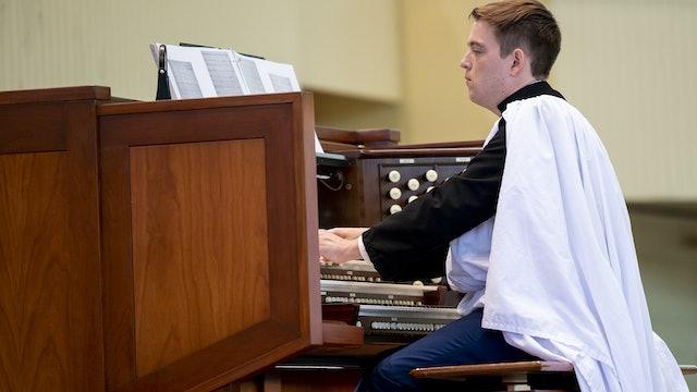 Organ Recital with Joshua Stafford 7/22/20