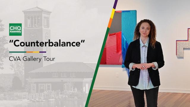 "Virtual Gallery Tour: ""Counterbalance"""