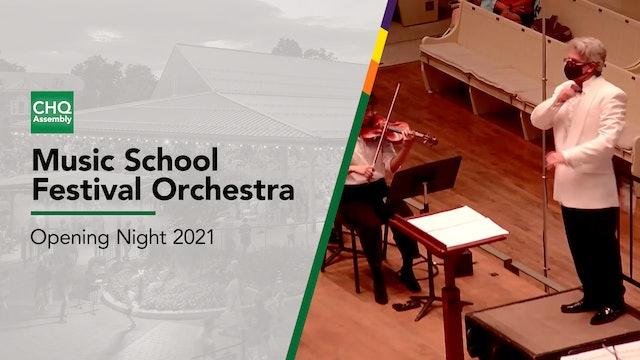 Music School Festival Orchestra: Opening Night 2021