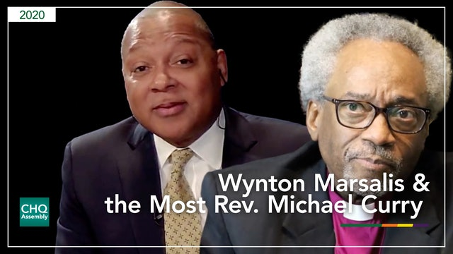 Wynton Marsalis in conversation with the Most Rev. Michael Curry