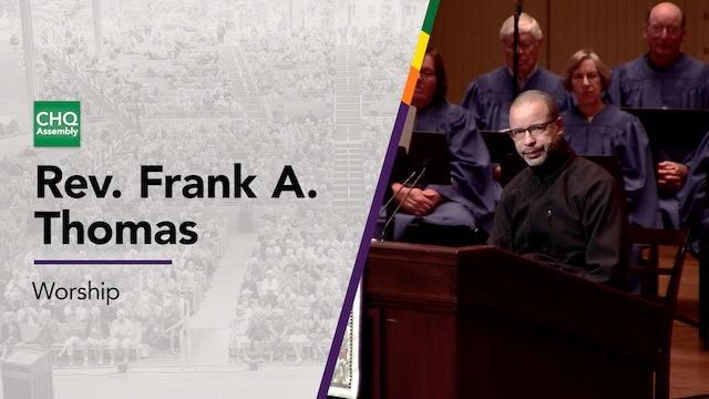 Rev. Frank A. Thomas - Thursday
