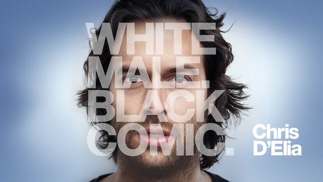 White Male. Black Comic.