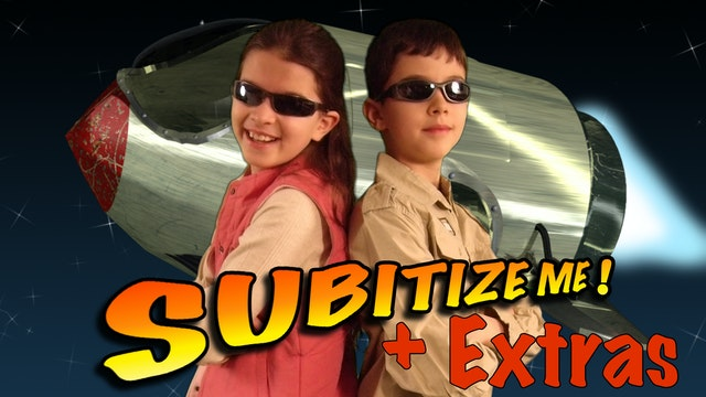 Amazing Math: Subitize Me! + Extras (School)
