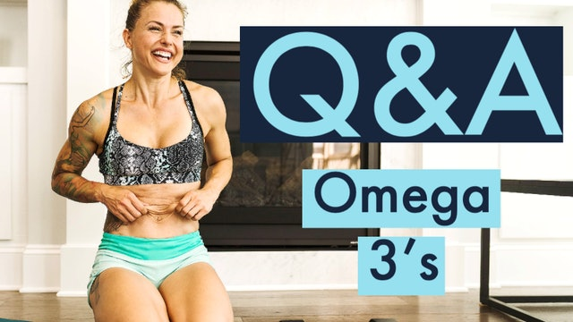 What is your take on Omega-3 supplements?