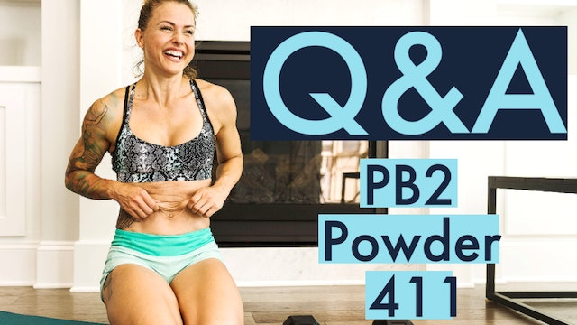 How and when should you use PB2 powder?