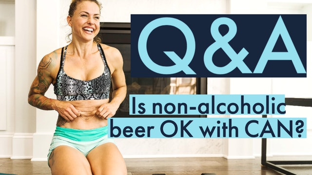 Is non-alcoholic beer ok?