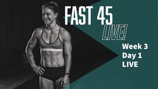 F45 W3D1 LIVE