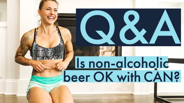 Is non-alcoholic craft beer ok?