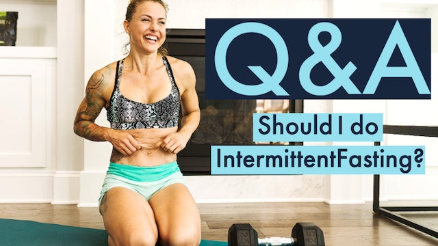 Should I do intermittent fasting?
