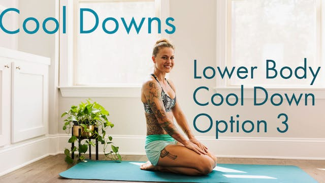 Lower Body Cool Down Option 3