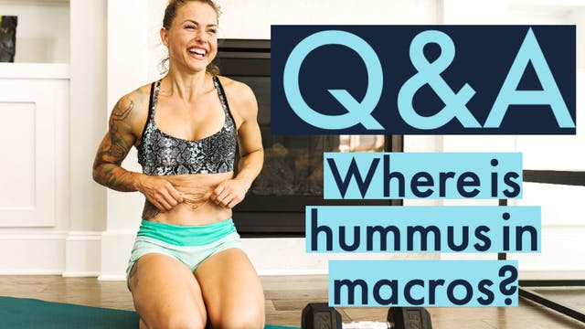 What is hummus in our macros?