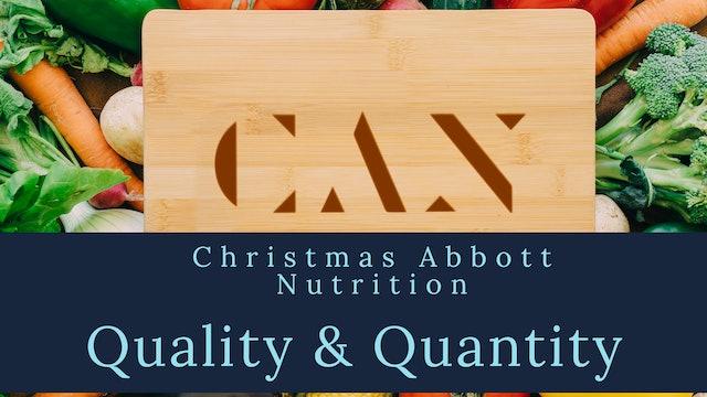 Quality Determines Quantity