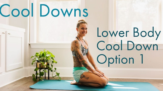 Lower Body Cool Down Option 1