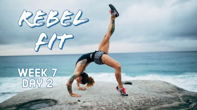 Rebel Fit W7D2 HIIT
